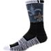 For Bare Feet New Orleans Saints NFL Blackout Socks Product Image