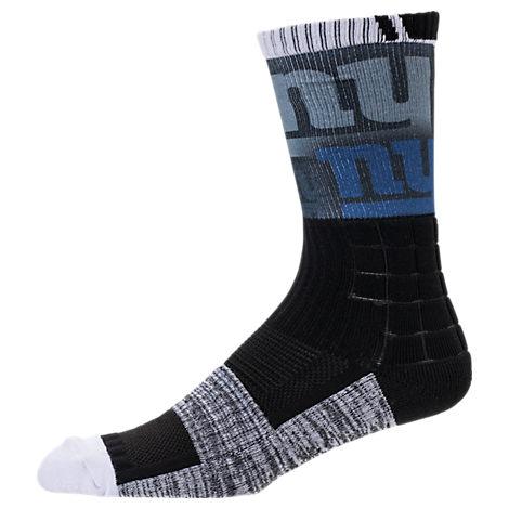 For Bare Feet New York Giants NFL Blackout Socks