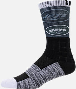 For Bare Feet New York Jets NFL Blackout Socks Product Image