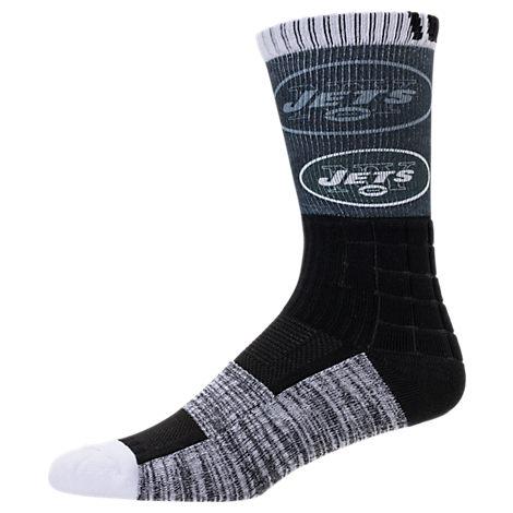 For Bare Feet New York Jets NFL Blackout Socks