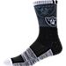 For Bare Feet Oakland Raiders NFL Blackout Socks Product Image