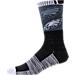For Bare Feet Philadelphia Eagles NFL Blackout Socks Product Image