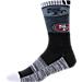 For Bare Feet San Francisco 49ers NFL Blackout Socks Product Image