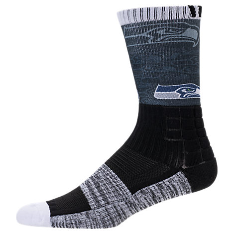 For Bare Feet Seattle Seahawks NFL Blackout Socks