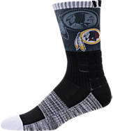 For Bare Feet Washington Redskins NFL Blackout Socks