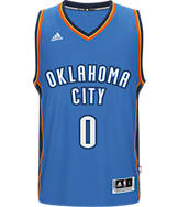 Men's adidas Oklahoma City Thunder NBA Russel Westbrook Swingman Jersey