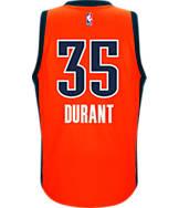 Men's adidas Oklahoma City Thunder NBA Kevin Durant Swingman Jersey