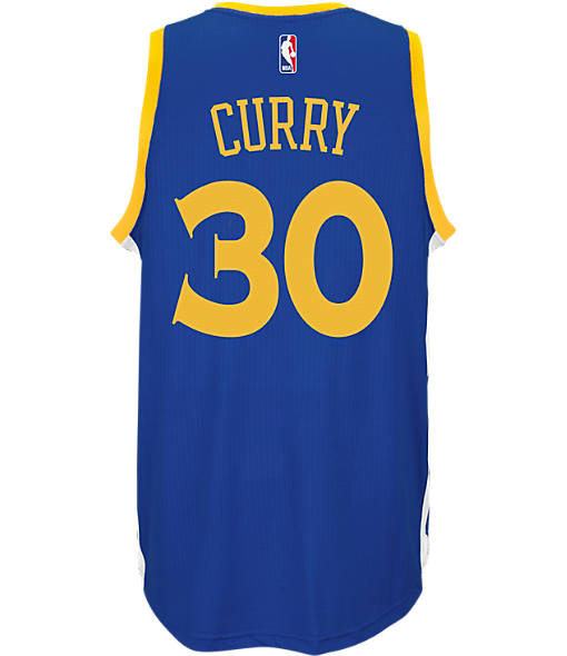 Men's adidas Golden State Warriors NBA Stephen Curry Swingman Jersey