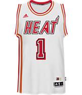 Men's adidas Miami Heat NBA Dwyane Wade Hardwood Classics Jersey