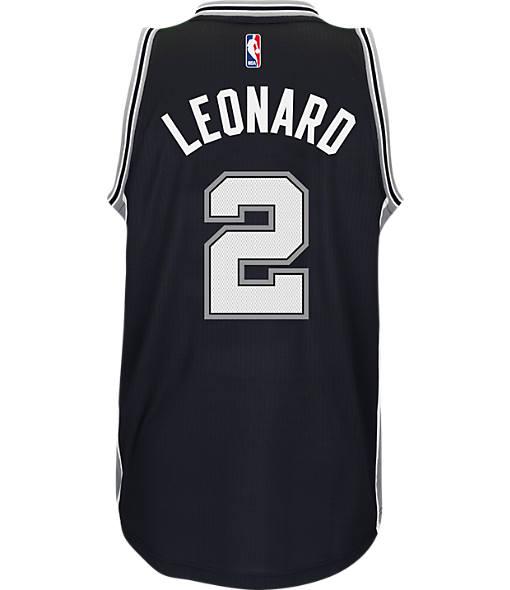 Men's adidas San Antonio Spurs NBA Kawhi Leonard Swingman Jersey