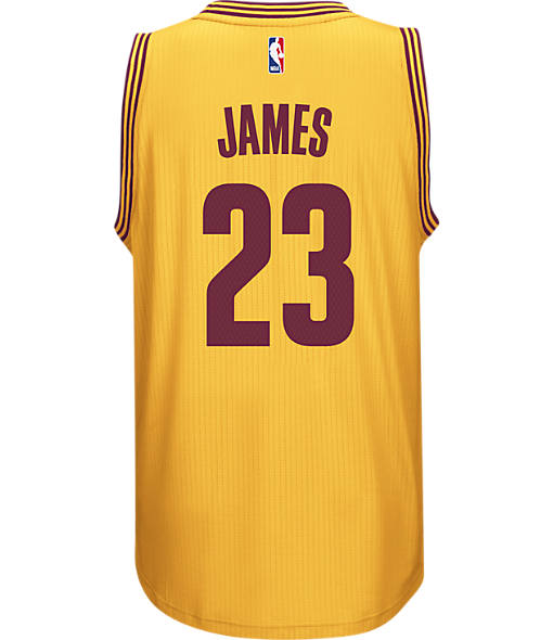 Men's adidas Cleveland Cavaliers NBA LeBron James Swingman Jersey