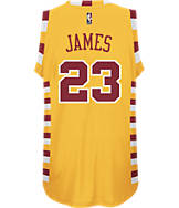 Men's adidas Cleveland Cavaliers NBA LeBron James Hardwood Classics Jersey