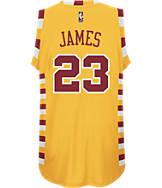 Men's adidas Cleveland Cavaliers NBA LeBron James Hardwood Classics Jersey