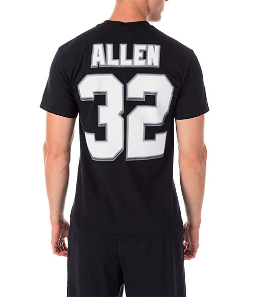 Men's Majestic Oakland Raiders NFL Marcus Allen Name and Number T-Shirt