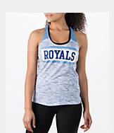 Women's New Era Kansas City Royals MLB Space Dye Tank