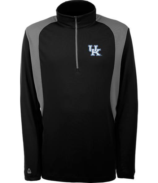 Men's Antigua Kentucky Wildcats College Delta Quarter Zip Shirt