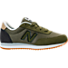 Right view of Boys' Preschool New Balance 501 Casual Shoes in Olive/Black