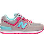 Girls' Grade School New Balance 574 Casual Shoes