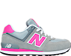 Girls' Grade School New Balance 574 Core Plus Casual Shoes