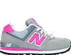 Girls' Grade School New Balance 574 Core Plus Casual Shoes