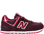 Girls' Preschool New Balance 574 Casual Shoes