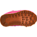 Bottom view of Girls' Toddler New Balance 574 Outdoor Boots in Pink/White/Gum