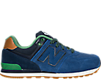 Boys' Grade School New Balance 574 Casual Shoes