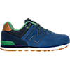 color variant Blue/Green Leather