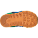 Bottom view of Boys' Toddler New Balance 574 Casual Shoes in Blue/Green Leather