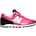 Right view of Girls' Grade School New Balance 574 Gradiant Casual Shoe in Pink/Black/White