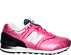 Girls' Preschool New Balance 574 Gradiant Casual Shoe