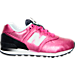 Right view of Girls' Preschool New Balance 574 Gradient Casual Shoe in Pink/Black/White