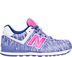 Girls' Preschool New Balance 574 Summer Waves Casual Shoes