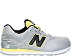 Boys' Grade School New Balance 574 Summer Waves Casual Shoes