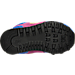 Bottom view of Girls' Toddler New Balance 574 Casual Shoes in Pink/Blue