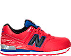 Boys' Grade School New Balance 574 Summer Waves Casual Shoes
