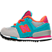 Left view of Girls' Toddler New Balance 574 Casual Shoes in Grey/Teal