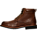 Left view of Men's KLR Drew Lace-Up Boots in Brown