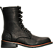 Right view of Men's KLR Pat Lace-Up Boots in Black