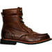 Right view of Men's KLR Ryan Boots in Brown