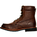 Left view of Men's KLR Ryan Boots in Brown