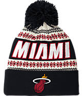 adidas Miami Heat NBA Ugly Sweater Knit Hat