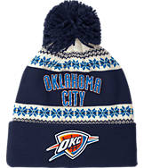 adidas Oklahoma City Thunder NBA Ugly Sweater Knit Hat