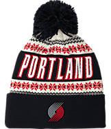 adidas Portland Trail Blazers NBA Ugly Sweater Knit Hat