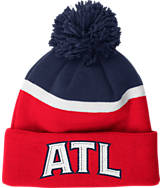 adidas Atlanta Hawks NBA Stripe Pom Knit Hat