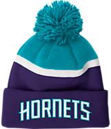 adidas Charlotte Hornets NBA Stripe Pom Knit Hat