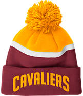 adidas Cleveland Cavaliers NBA Stripe Pom Knit Hat