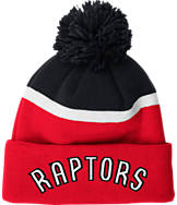 adidas Toronto Raptors NBA Stripe Pom Knit Hat