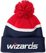 adidas Washington Wizards NBA Stripe Pom Knit Hat