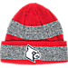 Front view of adidas Louisville Cardinals College Player Watch Knit Cap in Team Colors